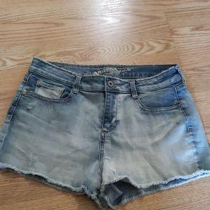Arizona Light Blue Cutoff Jean Shorts Size 9